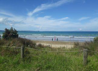 top beaches AUckland